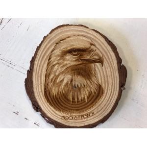 Houtschijf 9-10cm Eagle