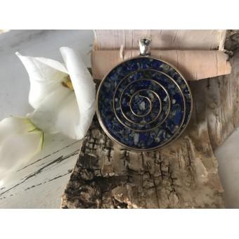"""Amulet """"Lapis spiral"""""""