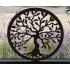 Tree of Life hout wand of raam ornament 55cm