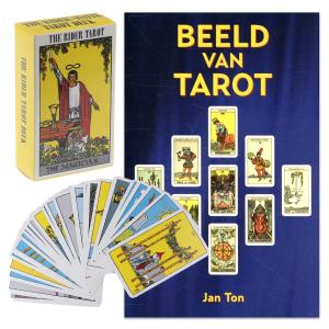 Boek Beeld van Tarot + Tarot deck Rider Waite